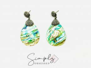 Stunning Abalone Earrings