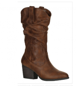 Chestnut cowgirl boots