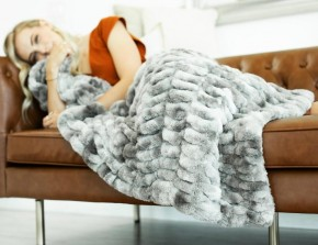 Minky  Urban Grande Blanket
