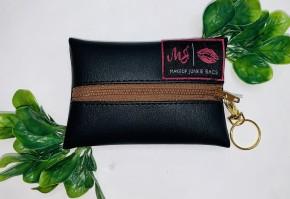 Makeup Junkie- Micro Oxford w/ key ring