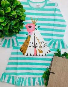 Honeydew - Tent ruffle dress (kids)