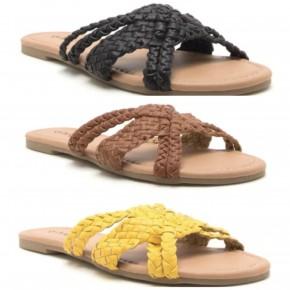 East Lion Corp - Braided slide sandal