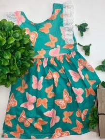Honeydew - Butterfly eyelet lace dress (kids)