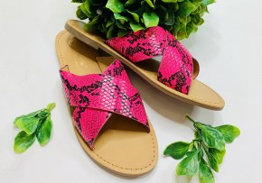 Open toe x strap casual sandals