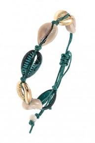Shell Link Turquoise Bracelet