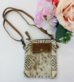 Myra Bag- Vuierra Rivet Small Crossbody Bag