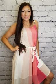 Andree by unit - Color block midi dress