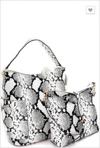 Handbag Republic - Snake print 2 in 1 hobo bag