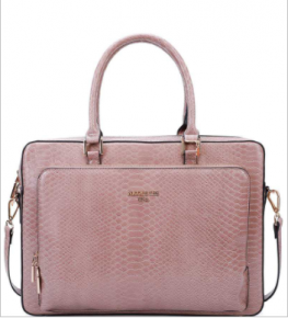 Nicole Lee - Snake pattern rectangle business satchel
