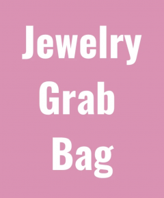 JEWELRY GRAB BAG with at LEAST 4 Pieces of Jewelry or more!