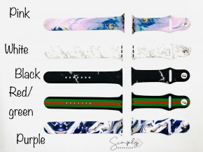 Silicone Printed Watch Band