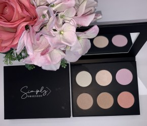 Simply Obsessed 6 color highlight palette