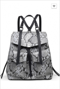 Urban Expressions - Medium size back pack with zipper and pocket detail