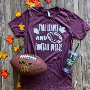 Fall Leaves Football Please