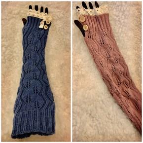 Long Fingerless Gloves *Final Sale*