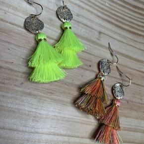 Mini Double Fringe Earrings
