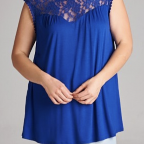 Lace Top Tunic
