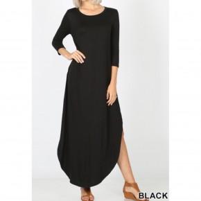 Maxi Dress- Quarter sleeve *Final Sale*