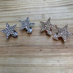 Star Clip On Earrings