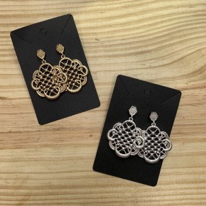 Metal Lace Earrings