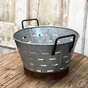 Round Olive Basket (Wide Mouth)