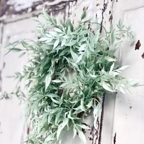 Mint Shrub Wreath