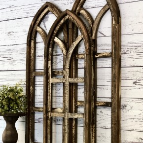 Antique Brown Harmony Window