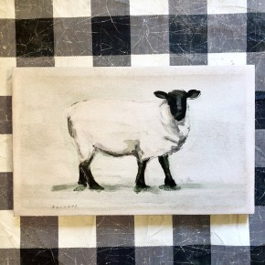 Antique Sheep Canvas