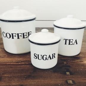Coffee Sugar Tea