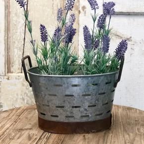 Short Oval Olive Basket