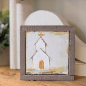 Small Church Canvas