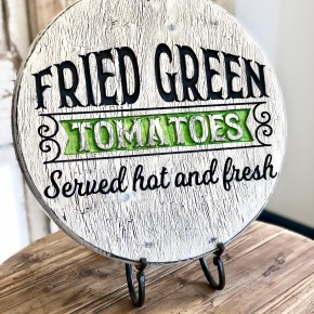 Fried Green Tomato Tray