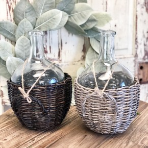 Willow Basket Jug