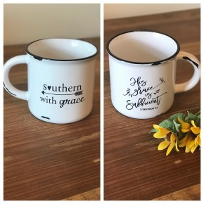 SWG Double Sided His Grace Is Sufficient Mug