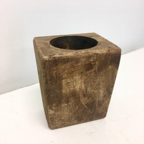 1 Hole Sugar Mold (Natural Brown)
