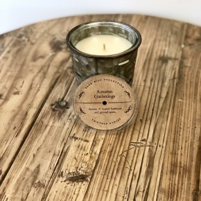 Olive Bucket Candle- Autumn