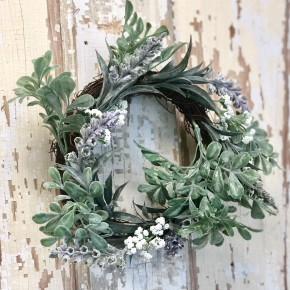 Foliage Lavender Wreath