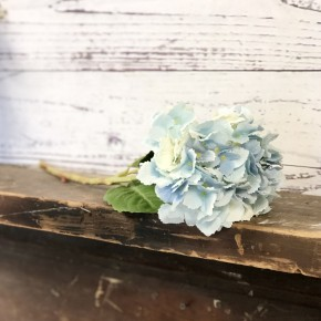 Real Touch Hydrangea Stem (Blue)