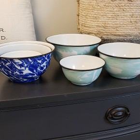 Splatterware Mixing Bowl Set
