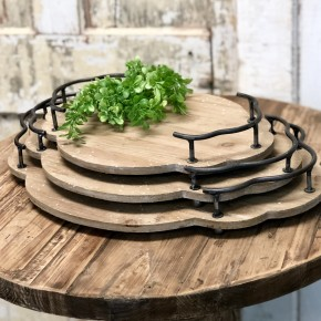 Wooden Bistro Tray