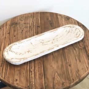 White Small Skinny Bowl