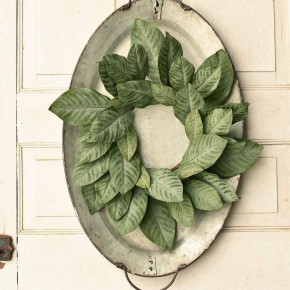 "Beautiful Magnolia Wreath | 20"" Round"