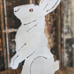 Metal Standing Rabbit