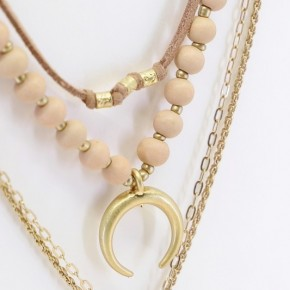 Moon Child layered Necklace
