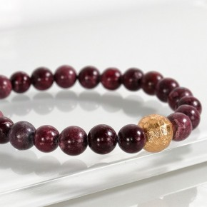 Natural Stone Stretch Bracelets - many colors
