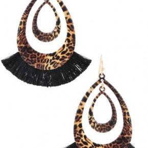 Sassy Leopard earrings
