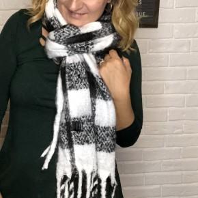 Check Mate scarf