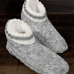 Toasty Toes Sherpa lined Slippers