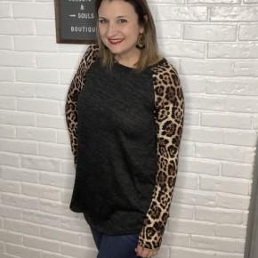 Leopard Dreams Sweater