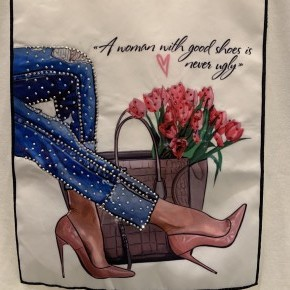 A Woman With Good Shoes is Never Ugly Graphic Tee